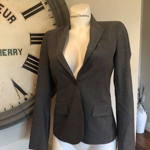 THEORY 8 GREY BLAZER